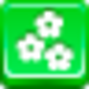 Free Green Button Flowers Image