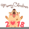 Merry Christmas And A Happy New Year Cliparts Image