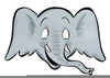 Free Clipart Of An Elephant Image