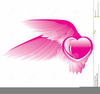 Clipart Pink Angel Wings Image