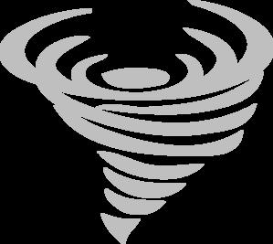 Tornado Grey Clip Art At Clkercom Vector Online Royalty