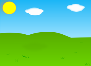 Cartoon Hills Clip Art