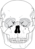 Skull For Tat Clip Art