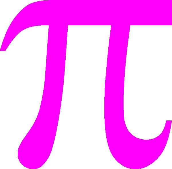 Pi Pink Clip Art At Clker Vector Clip Art Online Royalty