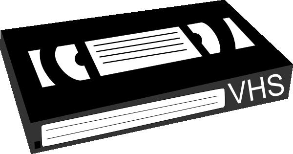 vcr tape clip art at clkercom vector clip art online