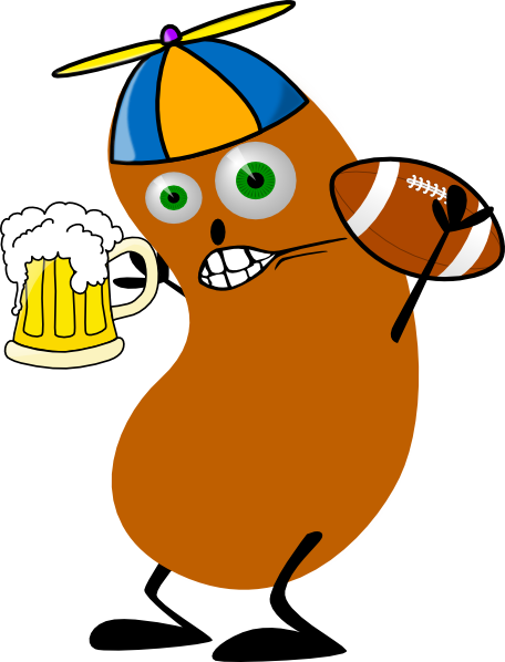 Fantasy Football Bean Clip Art at Clker.com - vector clip ...
