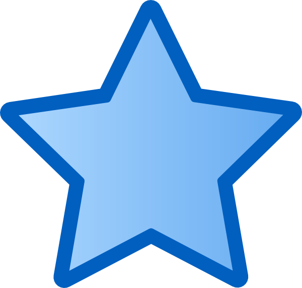 blue star clusters clip art - photo #3