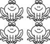 Frog For Lillypad Clip Art