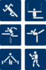 Sports Pictograms Clip Art