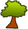 Cartoonish Tree Clip Art