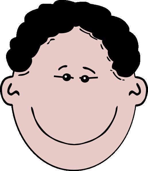 Face Black Hair Clip Art at Clker.com - vector clip art ...