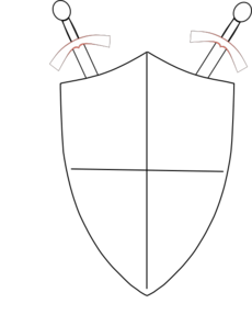 Crossed Swords And Shield Clip Art