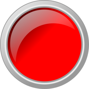 Push Button Glossy Red Clip Art