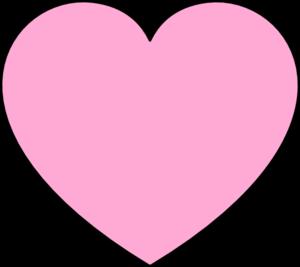 Light Pink Heart Clip Art at Clker.com - vector clip art ...