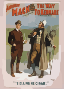 Andrew Mack In His New Play, The Way To Kenmare By Edward E. Rose. Clip Art