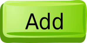 Green Add Button Clip Art