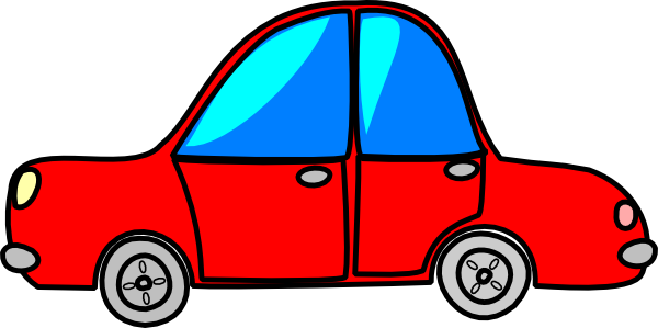 Car red cartoon transport clip art at vector clip art online royalty free public - Clipart voiture ...