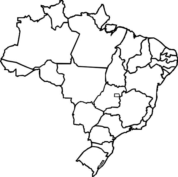 Map Of Brazil Clip Art At Clker Com