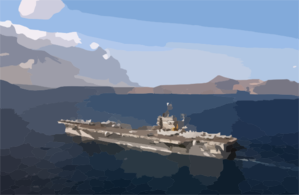 Uss Harry S. Truman (cvn 75) And Carrier Air Wing Three (cvw-3) Clip Art