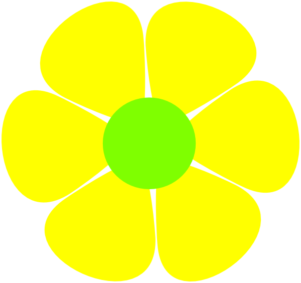 yellow flower vector png - photo #7