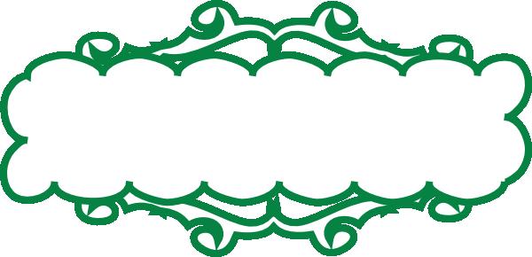 Green Line Banner Clip Art at Clker.com - vector clip art ...