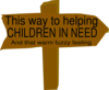 Charity Sign Clip Art