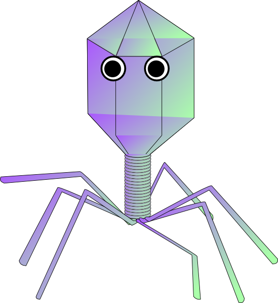 computer virus cartoon. Cartoon Virus clip art