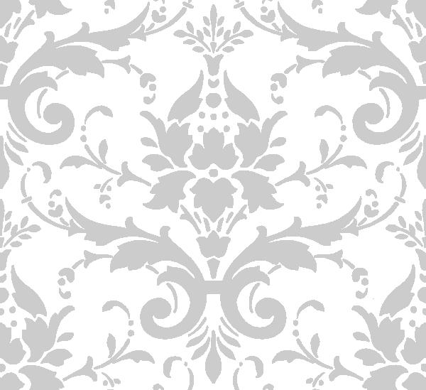 Grey Damask Clip Art At Clkercom Vector Online Royalty