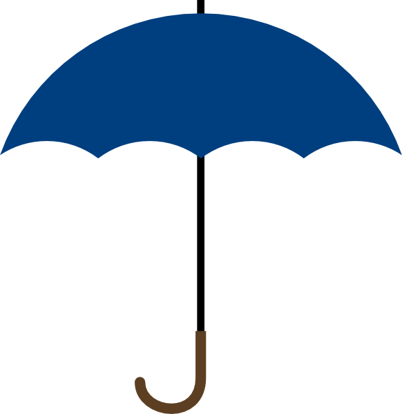 navy blue umbrella clip art at clker com vector clip art online rh clker com umbrella clip art b&w umbrella clip art free
