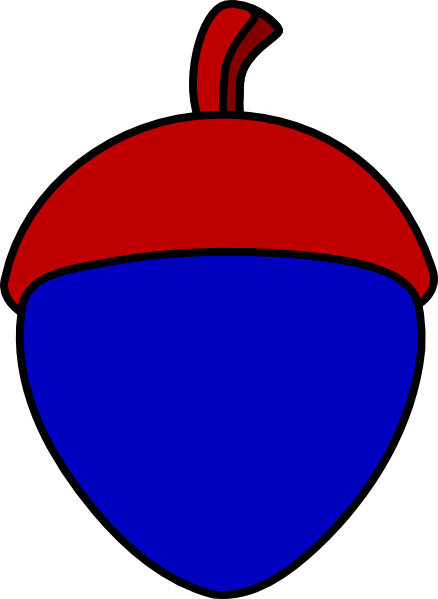 Acorn With Cap Clip Art At Clker Com Vector Clip Art Online Royalty Free Amp Public Domain