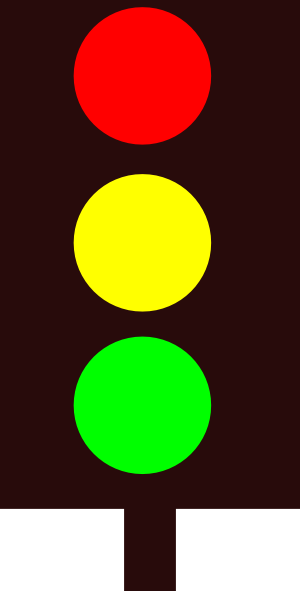 Traffic Light clip artYellow Traffic Light Clip Art