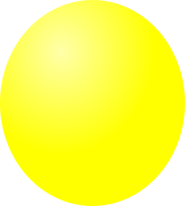 Ball Yellow Clip Art