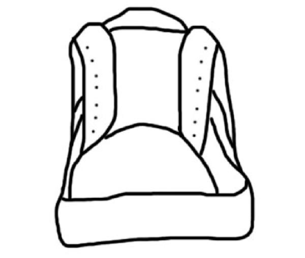 Converse Shoe Front Clip Art at Clker.com - vector clip art online ...