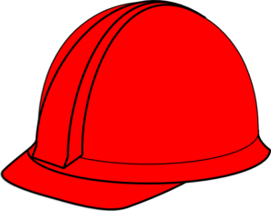 red hard hat clip art at clker com vector clip art online royalty rh clker com