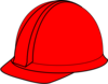 Red Hard Hat Clip Art