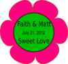 Faithmattflower Clip Art