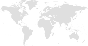 World Map Grey Clip Art