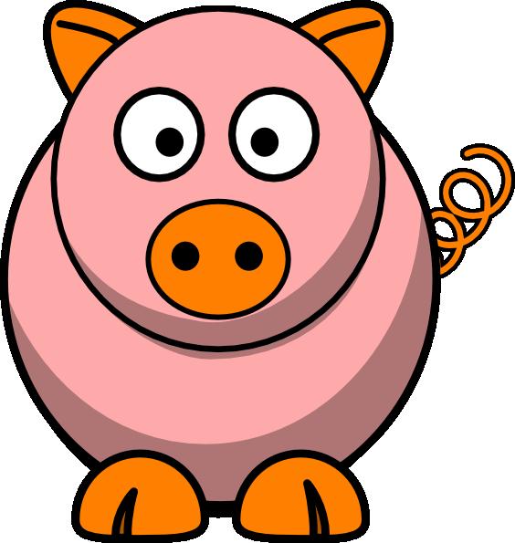 Pink Pig Clip Art at Clker.com - vector clip art online ...