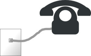 Telephone Connection Clip Art