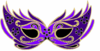 Purple Masquerade Mask Clip Art