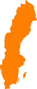 Sweden Orange Clip Art