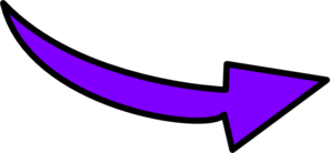 Purple Curvy Arrow Clip Art