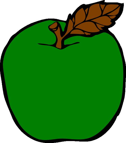 green apple clip art at clker com vector clip art online royalty rh clker com clip art of apple blossoms clip art of apple dumplings