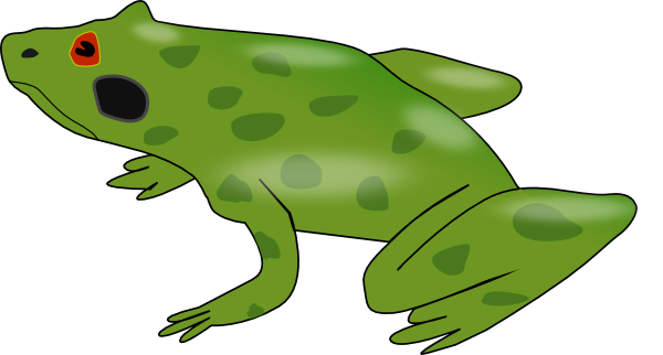 green frog clipart - photo #20