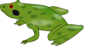 Green Tree Frog Clip Art