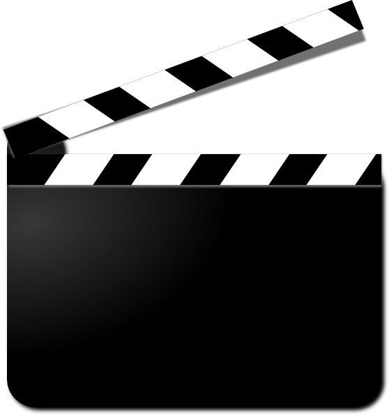 Movie Clapper Clip Art at Clker.com - vector clip art online, royalty ...