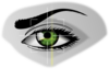 Eye Scan Clip Art
