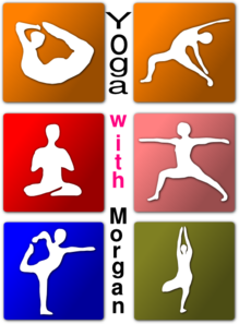 Yoga With Morgan Clip Art