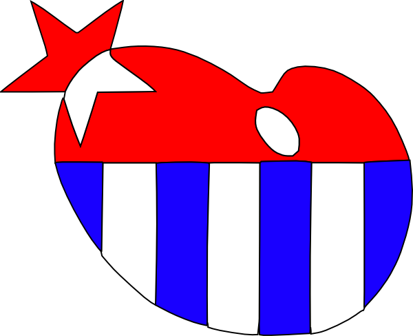 clip art heart black and white. American Flag Heart clip art