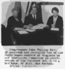 [congress, U.s. - Women Members: Mrs. Kahn, Mrs. Norton And John Phillip Hill - Unofficial Committee On Modification Of Volstead Act] Clip Art